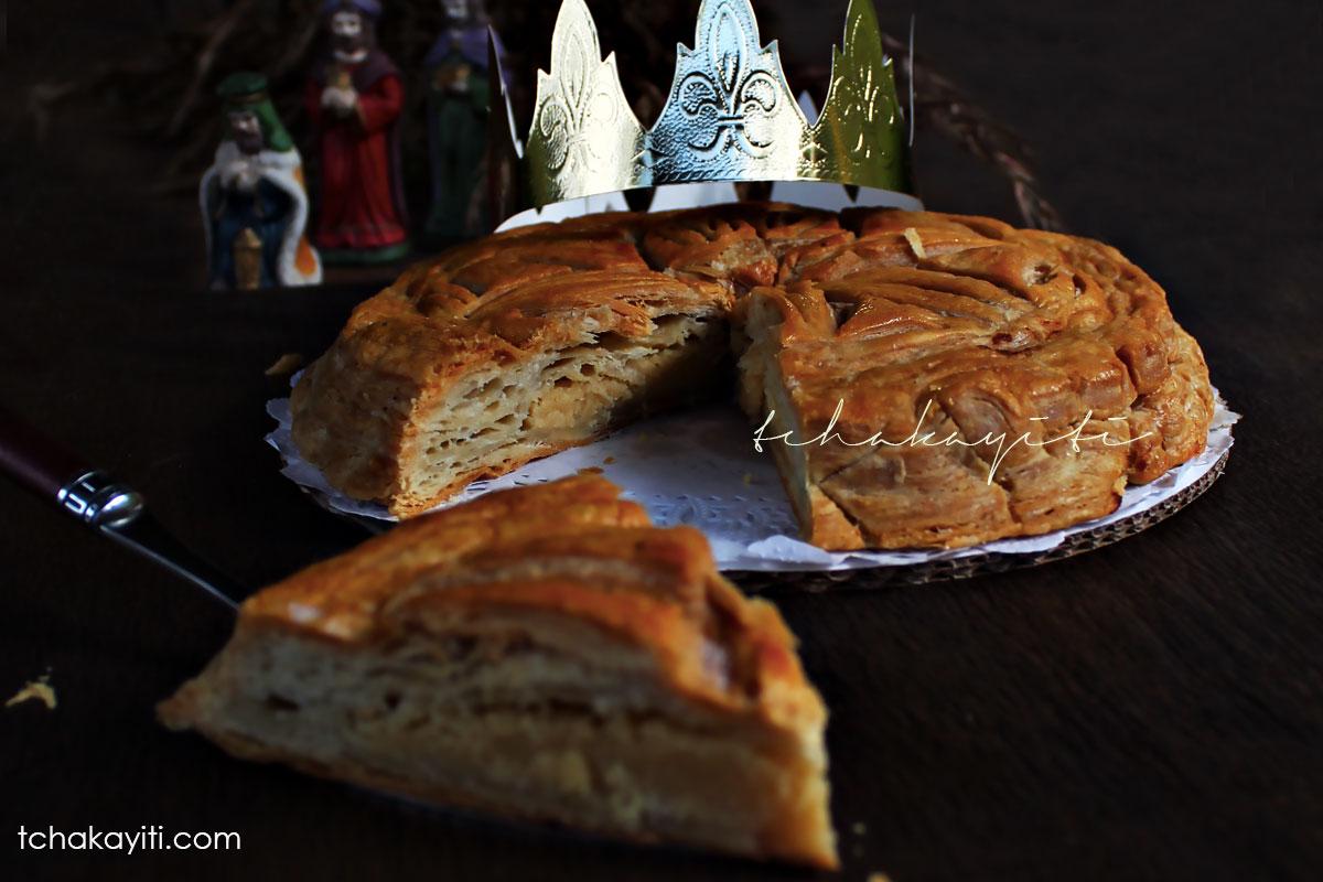 Galette des Rois Frangipane, a tradition in many Haitian families to celebrate Epiphany | tchakayiti.com