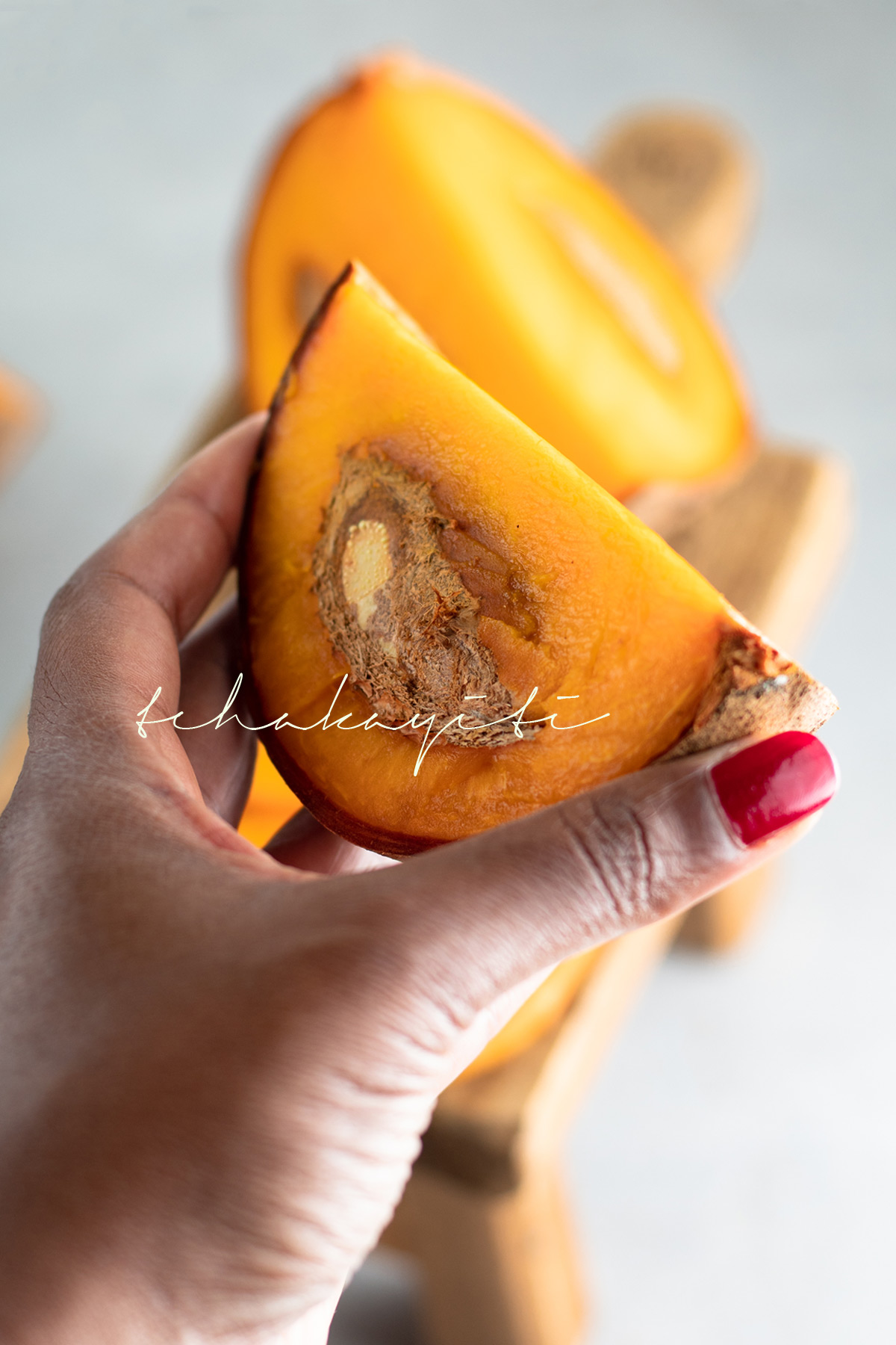 A Caribbean Apricot, mamey, will brighten your day and palate during the early summer days. | tchakayiti.com