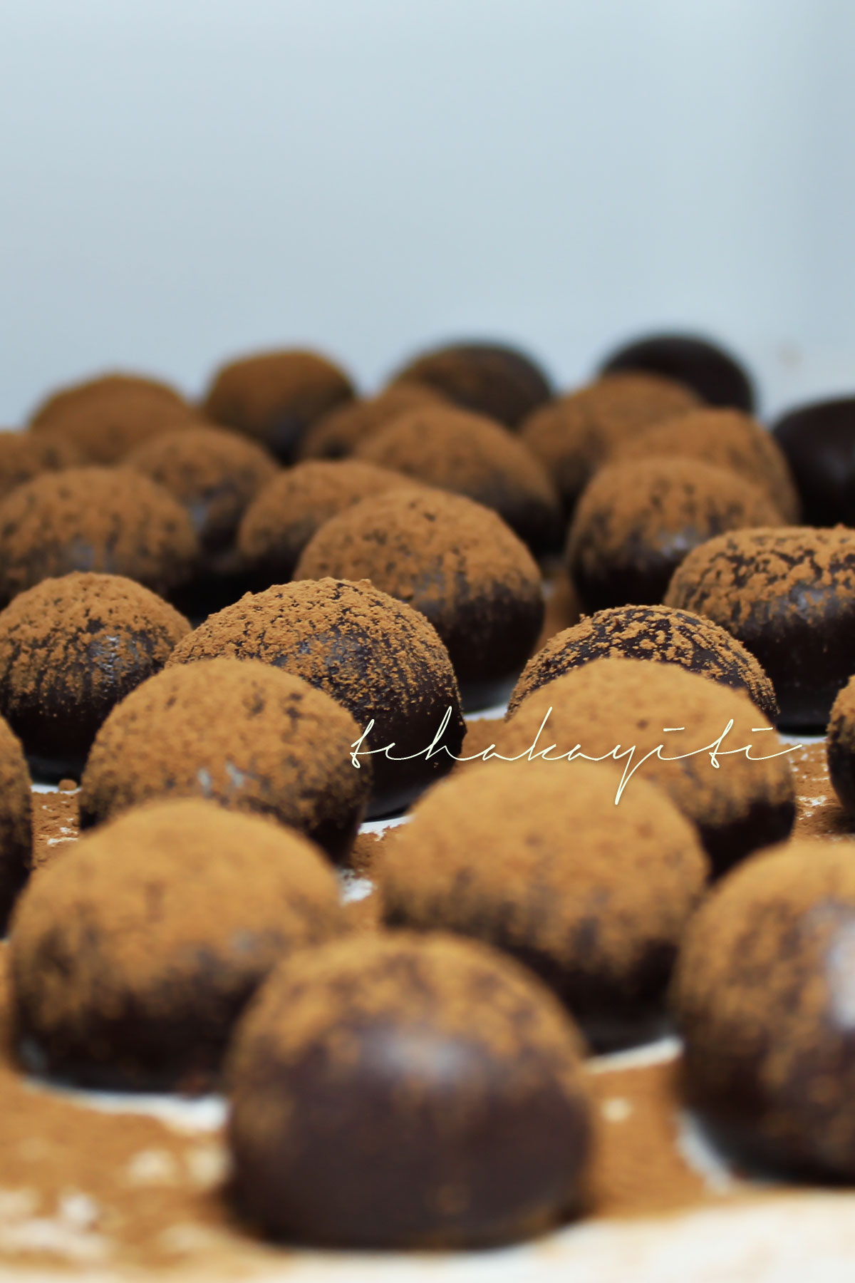 These boozy Haitian rum infused dark Haitian chocolate truffles will certainly leave you begging for more. | tchakayiti.com