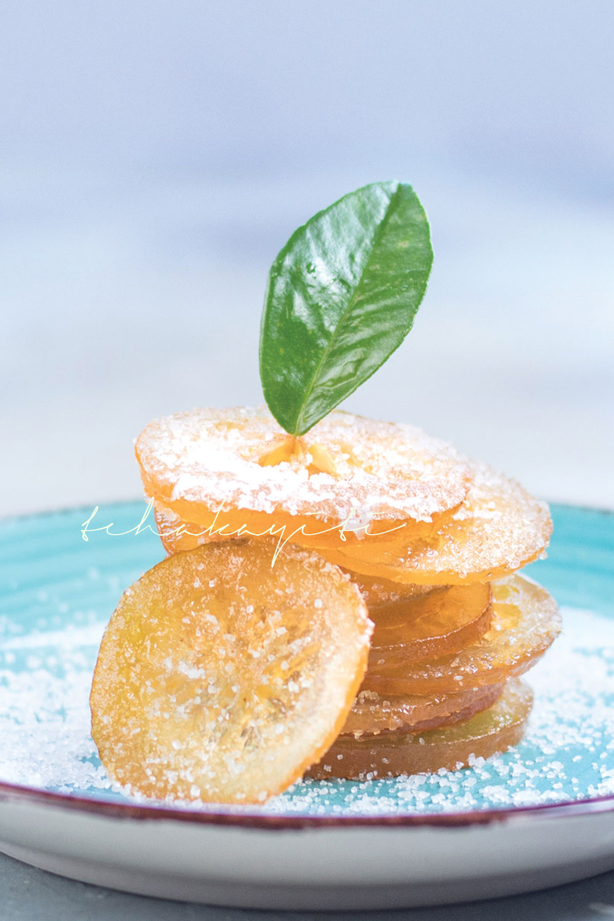 These candied citrus peel and slices are amazing. You will want to eat them like candy.   tchakayiti.com