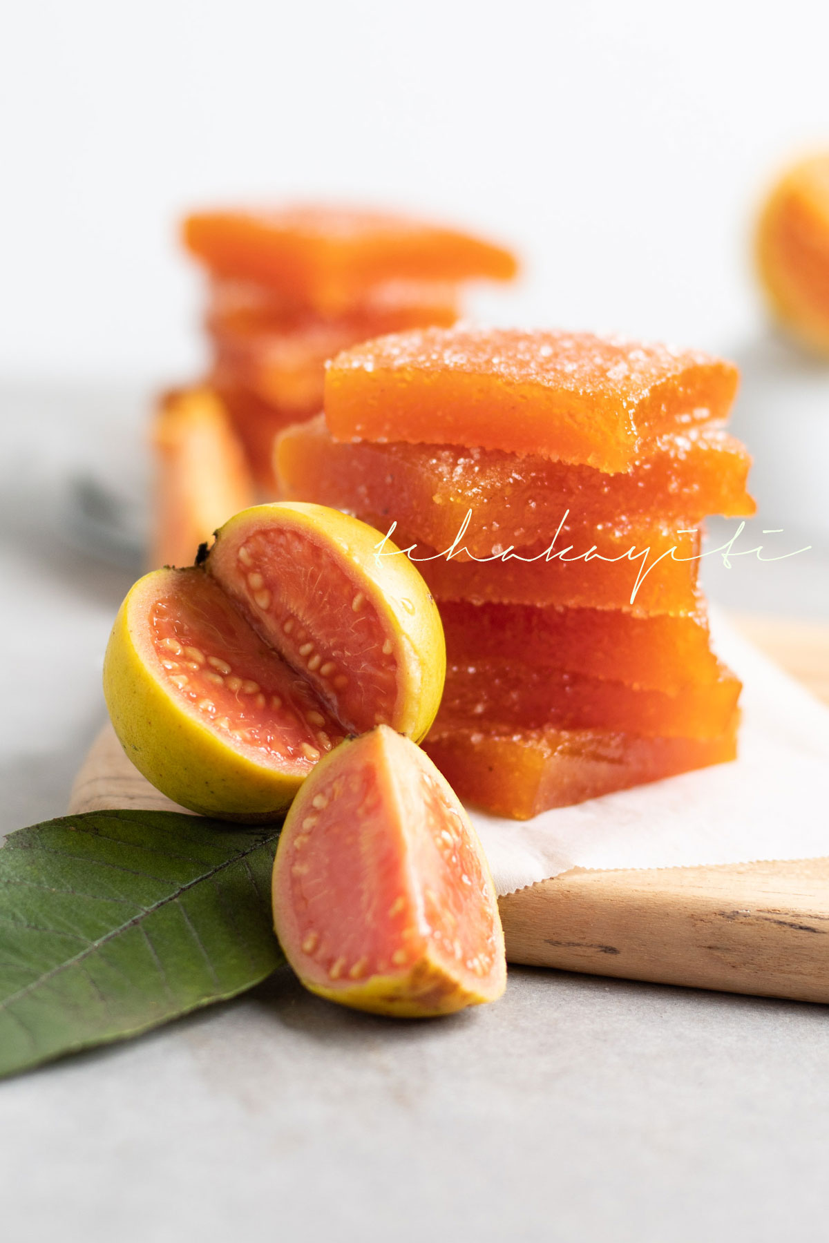 This homemade guava pate de fruit was a success among guava lovers. If you enjoy this fruit you will love this easy to make preserve.   tchakayiti.com