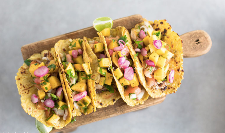 These plantain tortillas are light and airy. They're perfect for your tacos. | tchakayiti.com