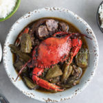 Try this Haitian okra stew. Infused with black mushroom, blue crabs and pork meat, it will leave you begging for seconds...and thirds. | tchakayiti.com