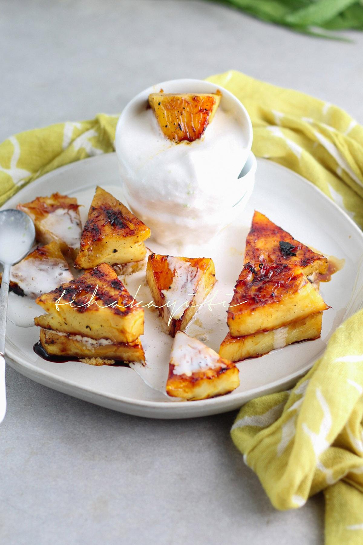 Griled piña colada bites | tchakayiti.com